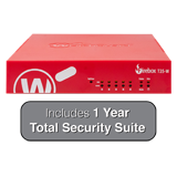 WatchGuard Firebox T35-W with 1-Year Total Security Suite - 940 Mbps Firewall, 560 Mbps VPN, 278 Mbps UTM