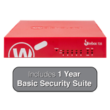 WatchGuard Firebox T35 with 1-Year Basic Security Suite - 940 Mbps Firewall, 560 Mbps VPN, 278 Mbps UTM