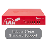 WatchGuard Firebox T35 with 3-Year Standard Support - 940 Mbps Firewall, 560 Mbps VPN, 278 Mbps UTM