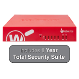 WatchGuard Firebox T35 with 1-Year Total Security Suite - 940 Mbps Firewall, 560 Mbps VPN, 278 Mbps UTM