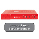 WatchGuard Firebox T10-W (Wireless) Firewall with 3-Years Security Suite