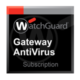 WatchGuard Gateway AntiVirus Subscription 1-Year for Firebox T10 Models