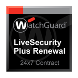 WatchGuard XTM 520 1-Year LiveSecurity Plus Renewal (24x7 Support Contract)