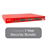 WatchGuard Firebox M440 UTM Firewall with 1-Year Security Bundle - 6.7Gbps Firewall, 3.2Gbps VPN, 1.6Gbps UTM, 25x 1GbE