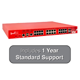 WatchGuard Firebox M440 with 1-Year 24x7 Standard Support - 6.7Gbps Firewall, 3.2Gbps VPN, 1.6Gbps UTM, 25x 1GbE