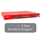WatchGuard Firebox M440 with 3-Year 24x7 Standard Support - 6.7Gbps Firewall, 3.2Gbps VPN, 1.6Gbps UTM, 25x 1GbE
