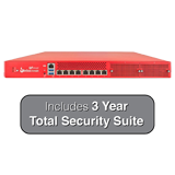 WatchGuard Firebox M4600 Next-Gen Firewall with 3-Year Total Security Suite - Up to 40 Gbps Firewall, 10 Gbps VPN,  8 Gbps UTM