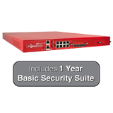 WatchGuard Firebox M5600 Firewall with 1-Year Basic Security Suite - Up to 60 Gbps Firewall, 10 Gbps VPN, 10.6 Gbps UTM