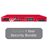 WatchGuard XTM 2520 with 1 Year Security Bundle - 35 Gbps Firewall, 10 Gbps VPN, up to 10 Gbps UTM, 12 GbE