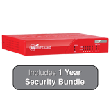 WatchGuard XTM 26 with 1 Year Security Bundle - 540Mbps Firewall, 60Mbps VPN, 70Mbps UTM; 5x 1GbE Ports