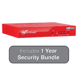 WatchGuard XTM 33 with 1 Year Security Bundle - 850Mbps Firewall, 100Mbps VPN, 100Mbps UTM; 5x 1GbE Ports