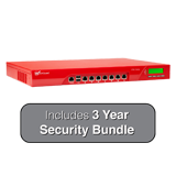 WatchGuard XTM 330 with 3 Year Security Bundle - 1.4 Gbps Firewall, 240Mbps VPN, 190Mbps UTM; 7x 1GbE Ports