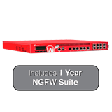 WatchGuard XTM 870 with 1-Year NGFW Suite - 14Gbps Firewall, 10Gbps VPN, 5.7Gbps UTM, 14x 1GbE