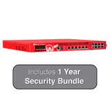 WatchGuard XTM 870 with 1-Year Security Bundle - 14Gbps Firewall, 10Gbps VPN, 5.7Gbps UTM, 14x 1GbE