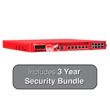 WatchGuard XTM 850 with 3 Year LiveSecurity (12x5 Support Contract) - 8Gbps Firewall, 8Gbps VPN, 3Gbps UTM, 14x 1GbE