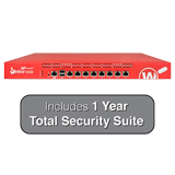 WatchGuard Firebox M300 UTM Firewall with 1-Year Total Security Suite - 4Gbps Firewall, 2Gbps VPN, 800Mbps UTM