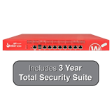 WatchGuard Firebox M300 UTM Firewall with 3-Year Total Security Suite - 4Gbps Firewall, 2Gbps VPN, 800Mbps UTM
