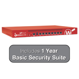 WatchGuard Firebox M370 with 1-Year Basic Security Suite - Up to 8 Gbps Firewall, 4.4 Gbps VPN, 2.7 Gbps UTM