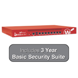 WatchGuard Firebox M370 with 3-Year Basic Security Suite - Up to 8 Gbps Firewall, 4.4 Gbps VPN, 2.7 Gbps UTM