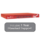 WatchGuard Firebox M370 with 1-Year 24x7 Standard Support - Up to 8 Gbps Firewall, 4.4 Gbps VPN, 2.7 Gbps UTM