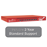 WatchGuard Firebox M370 with 3-Year 24x7 Standard Support - Up to 8 Gbps Firewall, 4.4 Gbps VPN, 2.7 Gbps UTM