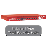 WatchGuard Firebox M370 with 1-Year Total Security Suite - Up to 8 Gbps Firewall, 4.4 Gbps VPN, 2.7 Gbps UTM