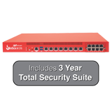 WatchGuard Firebox M570 with 3-Year Total Security Suite - Up to 25 Gbps Firewall, 5.5 Gbps VPN, 4 Gbps UTM