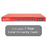 WatchGuard Firebox M670 with 1-Year Total Security Suite - Up to 30 Gbps Firewall, 7 Gbps VPN, 5 Gbps UTM