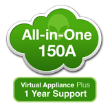 AlienVault USM All-in-One 150A Virtual Appliance with 1 Year Support