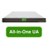 AlienVault USM All-in-One UA, Hardware Appliance with 1 Year Support