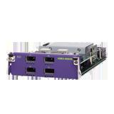 Summit VIM4-40G4X I/O Module, (4) 40GBASE-X QSFP+ ports for Summit X670