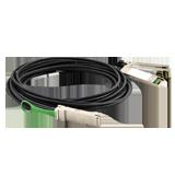Extreme 100Gb, DAC QSFP28-2xQSFP28 1m