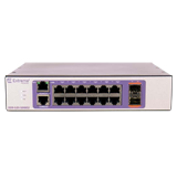 Extreme 220-12t-10GE2 Managed Switch – 220 Series 12 port 10/100/1000BASE-T, 2 10GbE unpopulated SFP+ ports