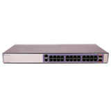 Extreme 220-24t-10GE2 Managed Switch – 220 Series 24 port 10/100/1000BASE-T, 2 10GbE unpopulated SFP+ ports