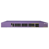 Extreme X440-G2-24t-10GE4 – X440-G2 24 10/100/1000BASE-T, 4 SFP combo, 4 1GbE unpopulated SFP upgradable to 10GbE SFP+