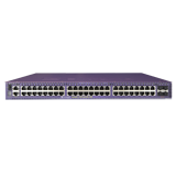Extreme X450-G2 48 10/100/1000BASE-T, 4 10GBASE-X Unpopulated SFP+, Two 21Gb Stacking ports, 1 Fixed AC PSU, 1 RPS Port