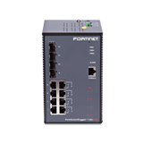 Fortinet FortiSwitch 112D-POE Ruggedized Layer 2 PoE Switch – 8 x GE RJ45 (Incl. 8 x PoE/PoE+ capable ports), 4 x GE SFP slots