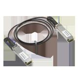 Meraki Compatible 40GbE QSFP Cable, 0.5 Meter