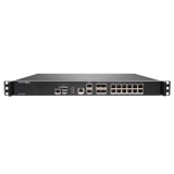 SonicWall NSA 3600 Network Security Firewall, 16x 1GbE Ports, 2x 10GbE Ports, 3.4Gbps Throughput (Hardware Only)