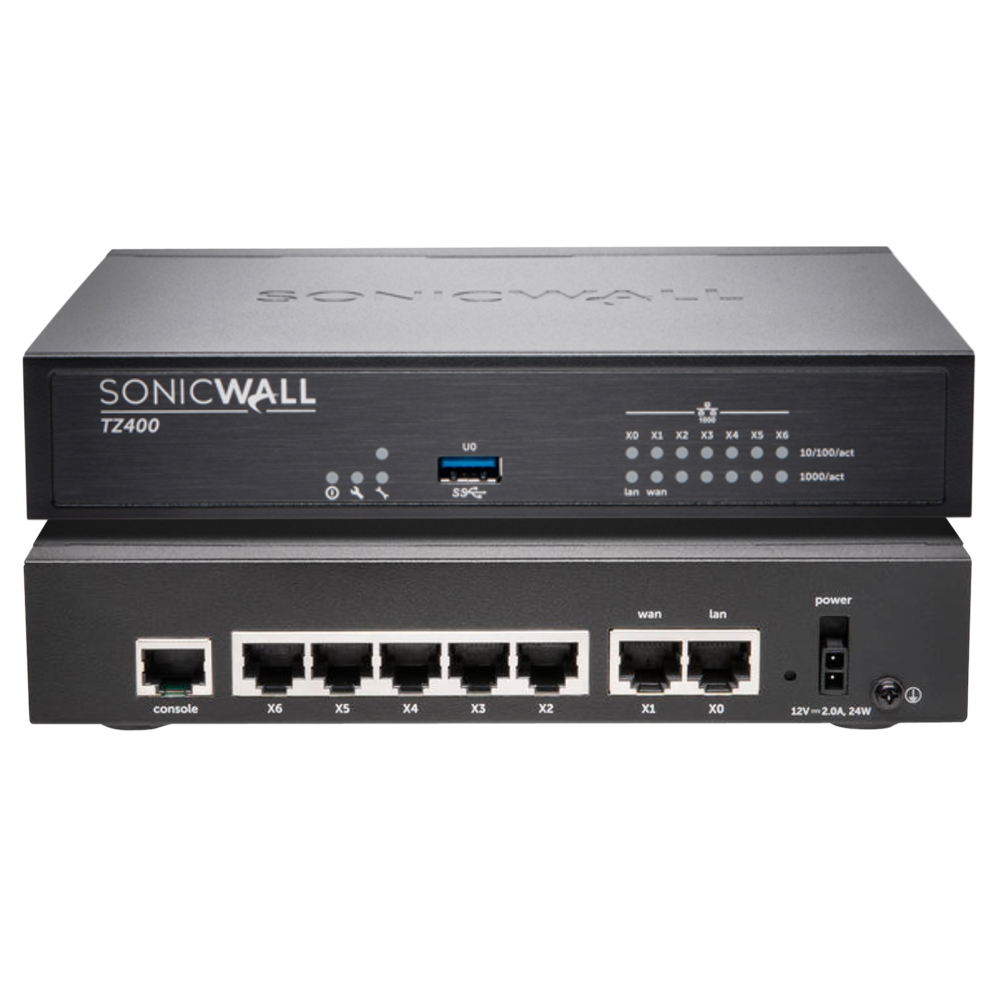 Sonicwall Tz400 Totalsecure Bundle Includes Tz 400