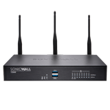 SonicWALL TZ500W Wireless UTM Firewall with Secure Upgrade Plus for 3 Years – 802.11ac, 4x1GHz cores, 8x1GbE interfaces