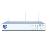 Sophos SG 135w Rev 2 Wireless Firewall TotalProtect Bundle with 8 GE ports, FullGuard License, Premium 24x7 Support - 3 Years