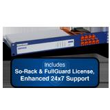 Sophos SG 135 Rev 2 Security Appliance TotalProtect Bundle w/8GE ports, FullGuard License, Premium 24×7 Support – 1 Yr + SoRack