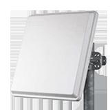 Ruckus Wireless AT-2401-DP One high gain directional antenna, dual-polarized 24.5dBi V gain/23.5dBi H gain