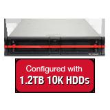Nexsan E18V 21.6TB (18x 1.2TB 10K HDD) Storage Array, Dual Controller, 18 Bay, 2U, 4GB Cache, 8x 1GbE iSCSI Connections