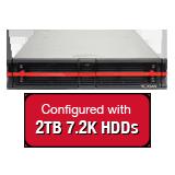 Nexsan E18V 18TB (9x 2TB 7.2K HDD) Storage Array, Dual Controller, 18 Bay, 2U, 4GB Cache, 8x 1GbE iSCSI Connections