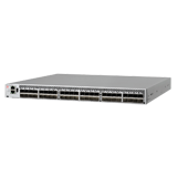 Brocade 6510 Fibre Channel Switch – 24 Ports, 24 x 16Gb Short Wave Length SFPs, Non-port side exhaust air flow