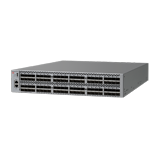 Brocade 6520 Fibre Channel Switch – 48 Ports, 48 x 16Gb Short Wave Length SFPs, Port side exhaust air flow