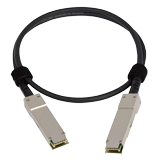 Fortinet Compatible 40GE QSFP+ Parallel Breakout Active Optical Cable with 1m length for all systems with QSFP+ slots