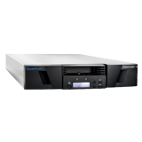 Quantum SuperLoader 3, one LTO-6HH tape drive, Model C, eight slots, 6Gb/s SAS, rackmount, barcode reader
